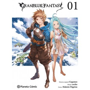 GranBlue Fantasy nº 01/06