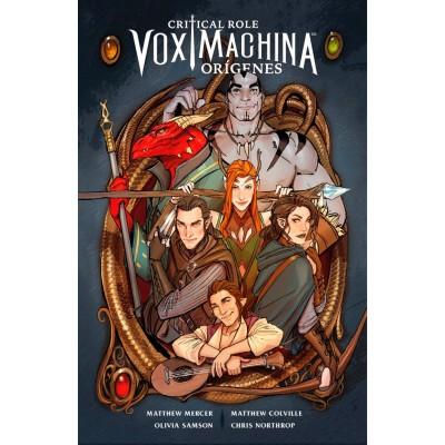 Critical Role Vox Machina Orígenes