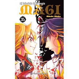 Magi: El Laberinto de la Magia nº 35