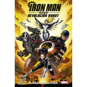 Héroes Marvel - Iron Man 2020. Revolución Robot: Fuerza de Choque