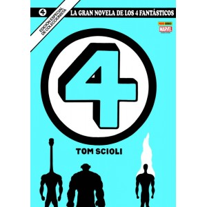 MGN. La Gran Novela de Los 4 Fantásticos 1