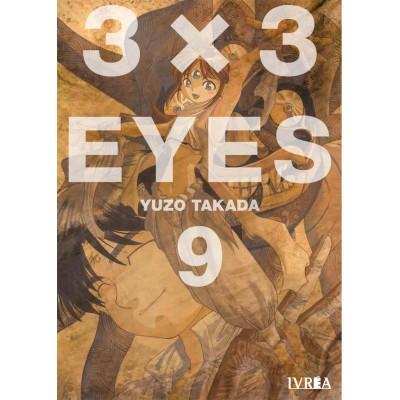 3x3 Eyes nº 09