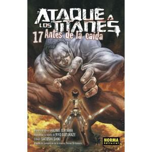 Ataque a los Titanes: Antes de la Caída nº 17