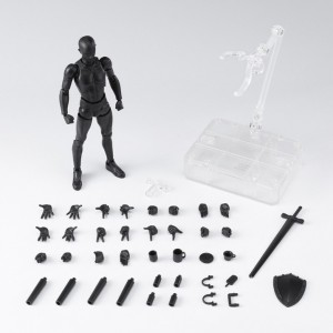 SH Figuarts - Body-Kun DX SET 2 Solid Black Color Ver.