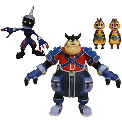 Kingdom Hearts Select Pack - Soldier, Pete, Chip y Chop