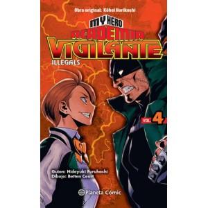 My Hero Academia: Vigilante Ilegals nº 04