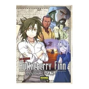 Las Aventuras de Huckleberry Finn (Clásicos Manga)