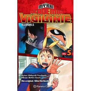 My Hero Academia: Vigilante Ilegals nº 05