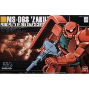HGUC ZAKU MS-06S CHAR 1/144