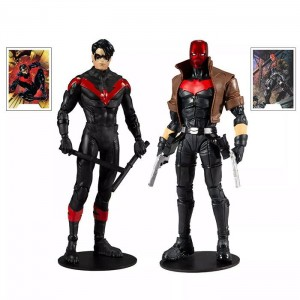 DC Multiverse - Pack Collector Multipack Night Wing VS Red Hood
