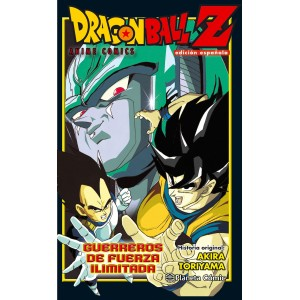 Dragon Ball Z Anime Comics: Guerreros de Fuerza Ilimitada