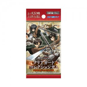 Attack on Titan - Clear Card Collection Gum