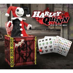 DC Comics Caja de música Caja sorpresa Jack in the Box Harley Quinn