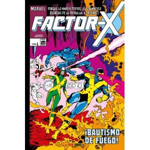 Marvel Gold. Factor-X 1. ¡Bautismo de fuego!