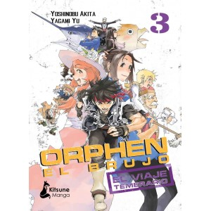 Orphen El Brujo: El Viaje Temerario nº 03