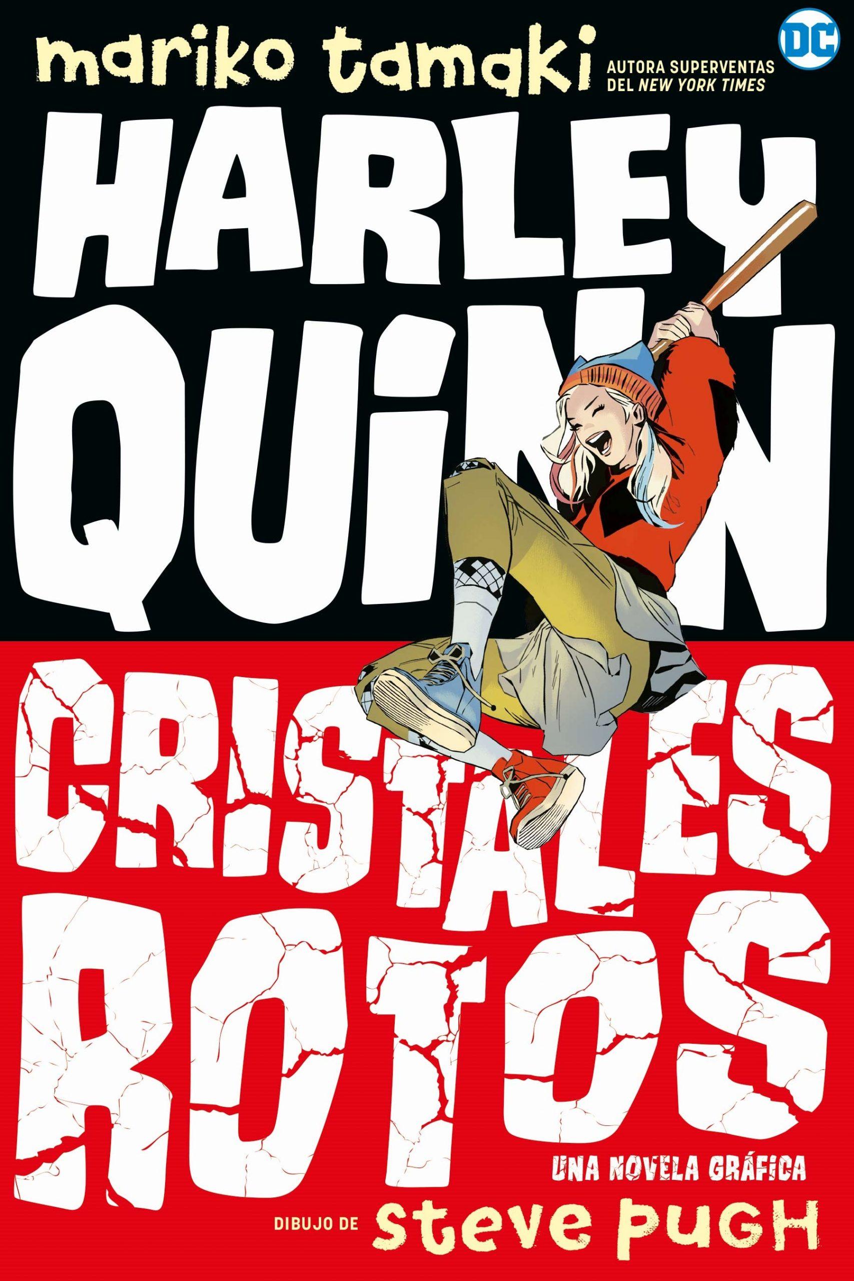 Harley Quinn: Cristales Rotos Book Cover