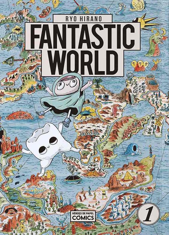 Fantastic World Book Cover