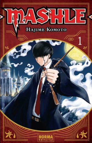 Mashle Book Cover