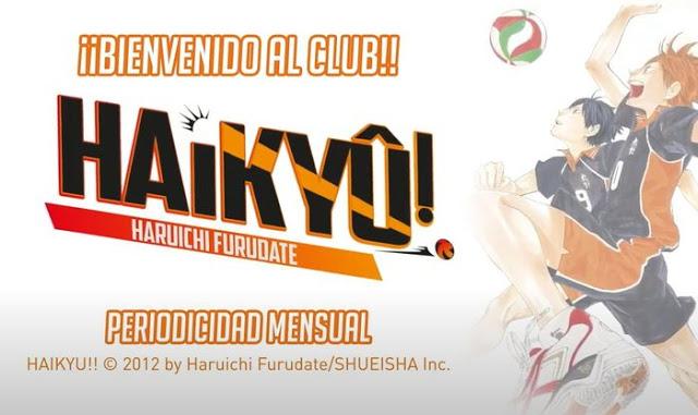 Haikyuu llega a España