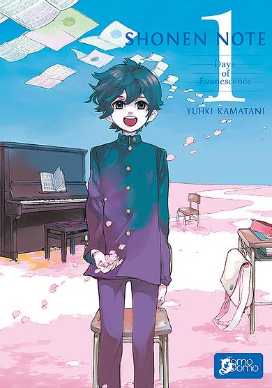 Shonen Note Book Cover